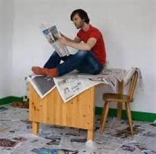 PIC--ReadingTodaysNews
